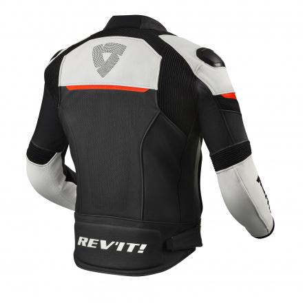 REV'IT! Jacket Convex, Zwart-Neon Rood (2 van 2)