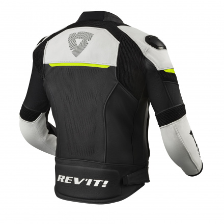 REV'IT! Jacket Convex, Zwart-Neon Geel (2 van 2)