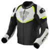REV'IT! Jacket Convex, Zwart-Neon Geel (Afbeelding 1 van 2)