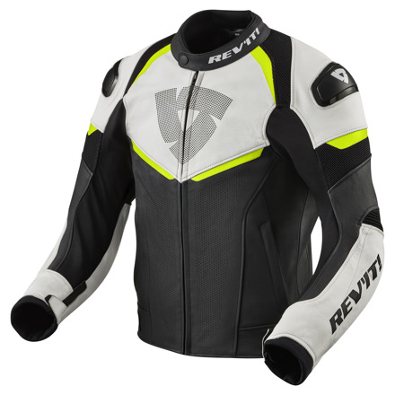 REV'IT! Jacket Convex, Zwart-Neon Geel (1 van 2)