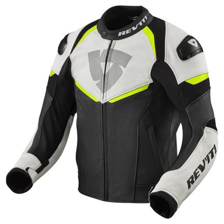 REV'IT! Jacket Convex, Zwart-Neon Geel (1 van 2)