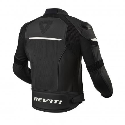 REV'IT! Convex Motorjas, Zwart-Wit (2 van 2)