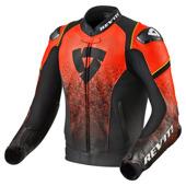 Jacket Quantum - Zwart-Neon Rood