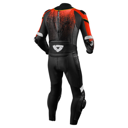 REV'IT! One Piece Quantum, Neon Rood-Zwart (2 van 2)