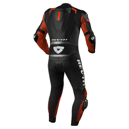 REV'IT! One Piece Triton, Zwart-Neon Rood (2 van 2)