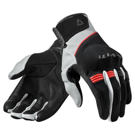 REV'IT! Gloves Mosca, Zwart-Rood (1 van 1)