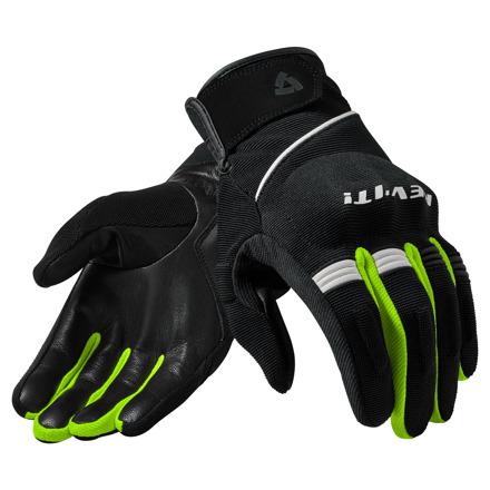 REV'IT! Gloves Mosca, Zwart-Neon Geel (1 van 1)
