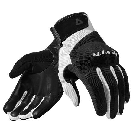 REV'IT! Mosca Motorhandschoenen, Zwart-Wit (1 van 1)