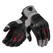 motorhandschoen Dirt 3 - Zwart-Rood