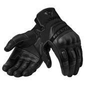 motorhandschoen Dirt 3 - Zwart