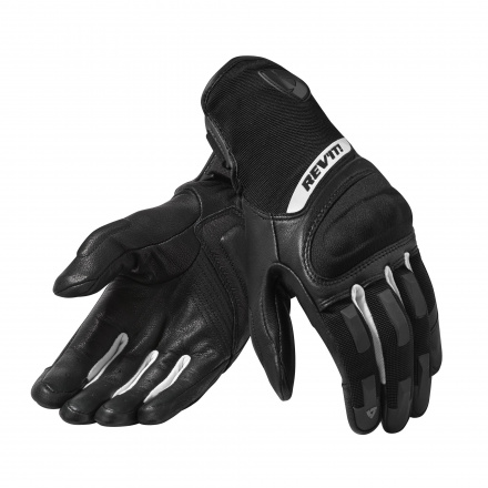 REV'IT! Gloves Striker 3 Ladies, Zwart-Wit (1 van 1)