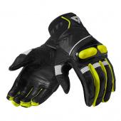 Hyperion Motorhandschoenen - Zwart-Neon Geel