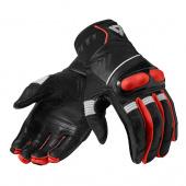 Hyperion Motorhandschoenen - Zwart-Neon Rood
