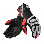 Metis Motorhandschoenen - Zwart-Rood
