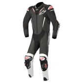 Atem V3 Leather Suit 1 PC - Zwart-Wit