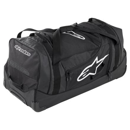 Komodo Travel Bag - Zwart-Antraciet-Wit