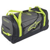 Komodo Travel Bag - Zwart-Antraciet-Fluor