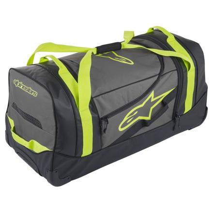Komodo Travel Bag - Zwart-Antraciet-Fluor