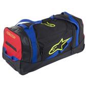 Komodo Travel Bag - Zwart-Blauw-Rood-Fluor