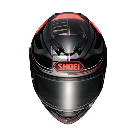 Shoei GT-Air 2 Crossbar, Zwart-Rood-Antraciet (3 van 3)
