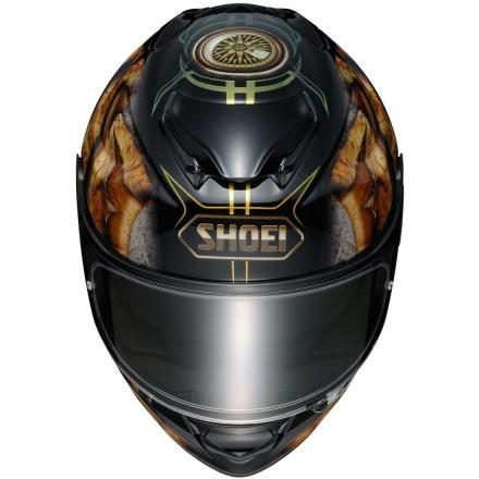 Shoei GT-Air 2 Deviation, Zwart-Goud-Zilver (3 van 3)