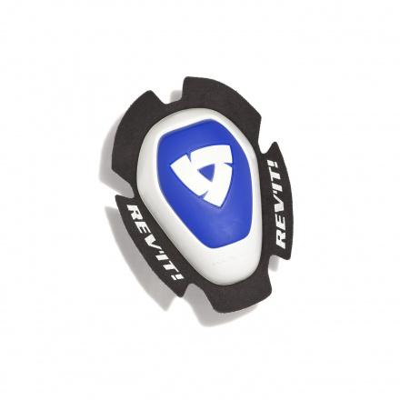 REV'IT! Knee Slider Dual Comp Type A, Wit-Blauw (1 van 1)