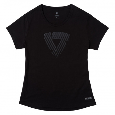 REV'IT! T-shirt Howlock Ladies, Zwart (1 van 2)