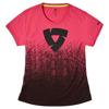 REV'IT! T-shirt Quantum Ladies, Zwart-Roze (Afbeelding 1 van 2)