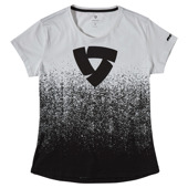 T-shirt Quantum Ladies - Zwart-Wit