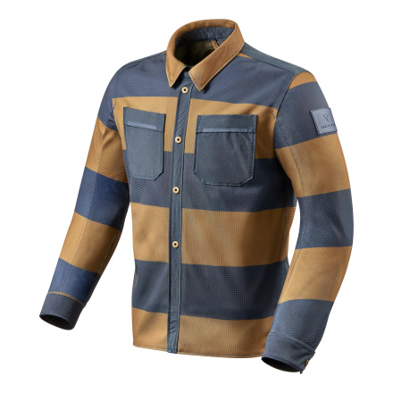 Overshirt Tracer Air - Bruin-Blauw