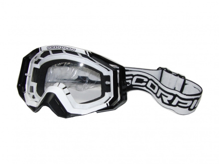 Offroad Masques MX - Wit-Zwart