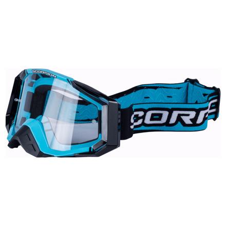 Offroad Masques MX - Blauw-Zwart