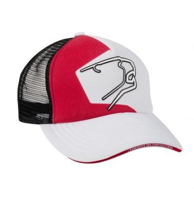 Racing Cap - Zwart-Wit-Rood