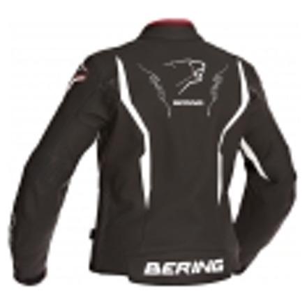 Bering Lady Agera-R BCB129 Leren damesjas, Zwart-Wit (2 van 2)