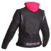 Bering Lady Switch BCB236 Leren damesjas, Zwart-Wit-Roze (Afbeelding 2 van 2)
