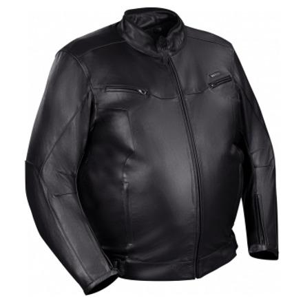 Bering Gringo (King Size) Leren jas, Zwart (1 van 2)