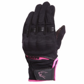 Lady Fletcher Zomer Handschoen - Zwart-Roze