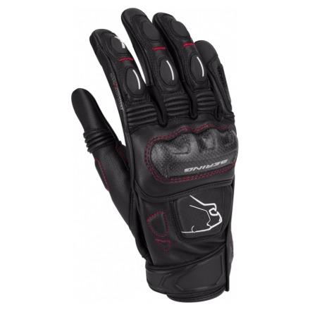 Bering Boost-r Zomer Handschoen, Zwart-Wit (1 van 2)