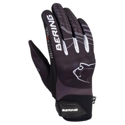 Bering Lady Grissom Zomer Handschoen, Zwart-Grijs (1 van 2)