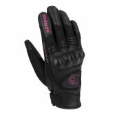 Lady Ginza Zomer Handschoen - Zwart-Roze