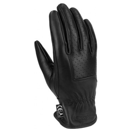 Bering Lady Mexico Perfo Zomer Handschoen, Zwart (1 van 2)