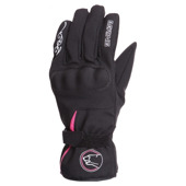 Lady Victoria Winter Handschoen - Zwart-Roze