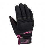 Lady Borneo Handschoen - Zwart-Roze