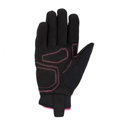 Bering Lady Borneo Handschoen, Zwart-Roze (2 van 2)