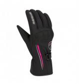Lady Kevina Handschoen - Zwart-Roze