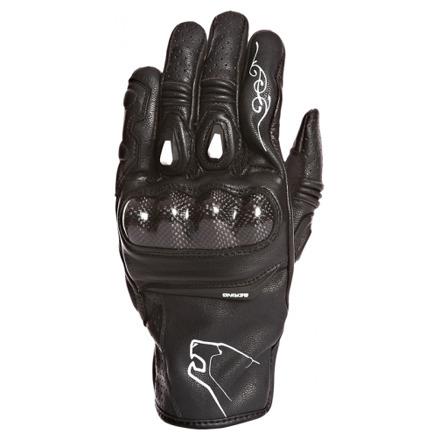 Bering Lady Fever Handschoen, Zwart-Wit (1 van 1)