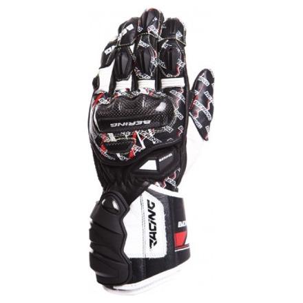 Bering Snip-r Handschoenen, Zwart-Wit-Rood (1 van 2)