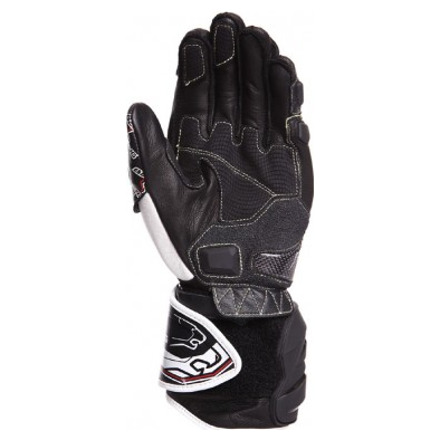 Bering Snip-r Handschoenen, Zwart-Wit-Rood (2 van 2)