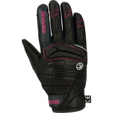 Bering Lady Java Handschoen, Zwart-Roze (1 van 1)