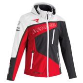 Softshell Racing - Grijs-Rood